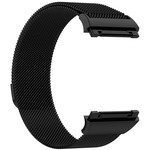 123Watches.nl Fitbit Ionic milanese band - zwart