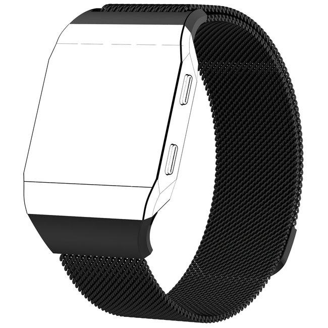Fitbit Ionic milanese band - zwart