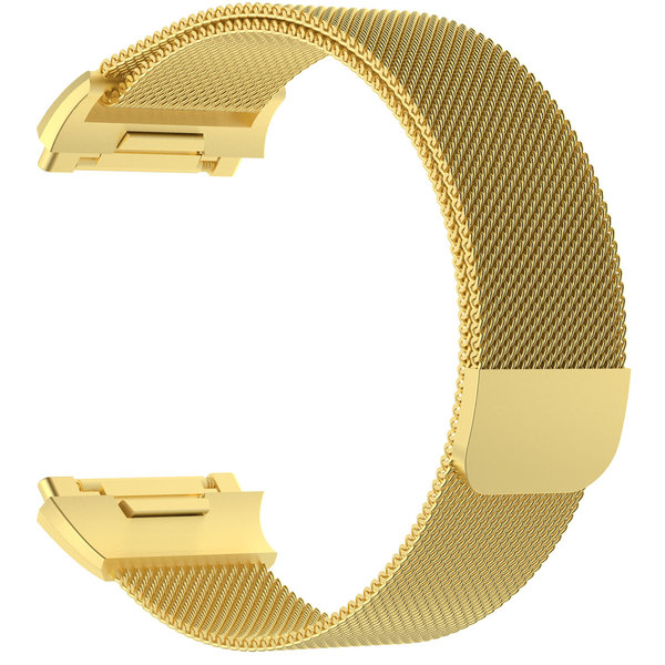 123Watches.nl Fitbit Ionic milanese band - Gold
