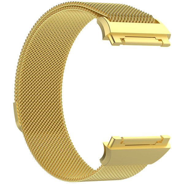 123Watches Fitbit Ionic milanese band - goud