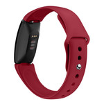 123Watches.nl Fitbit Inspire sport silicone band - rood