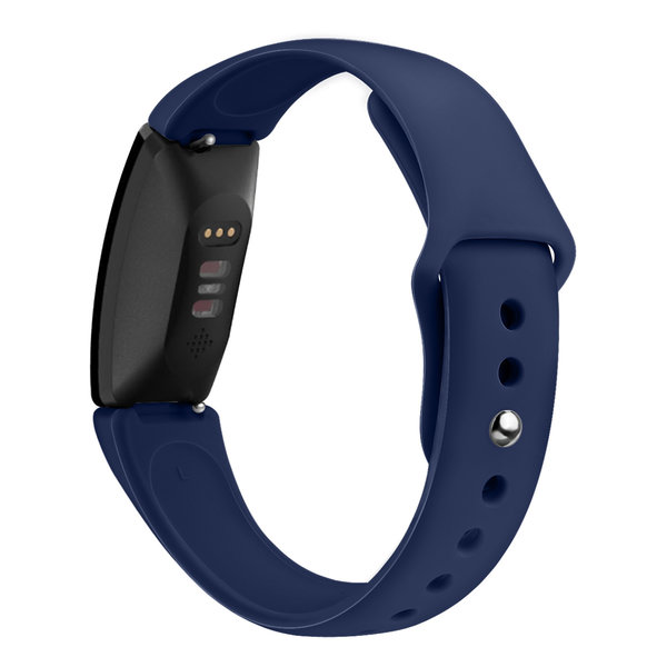 123Watches Fitbit Inspire sport silicone bande - bleu