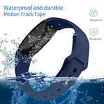 123Watches.nl Fitbit Inspire sport silicone bande - bleu