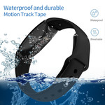 123Watches Fitbit Inspire sport silicone bande - noir