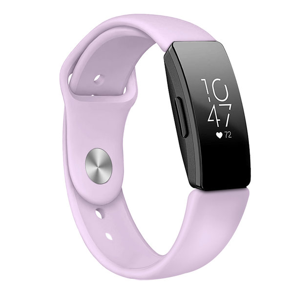 123Watches Fitbit Inspire sport silicone band - lavendel