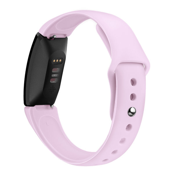 123Watches.nl Fitbit Inspire sport silicone band - lavender