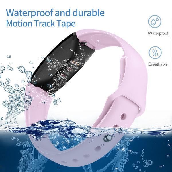 123Watches Fitbit Inspire sport silicone bande - la lavande