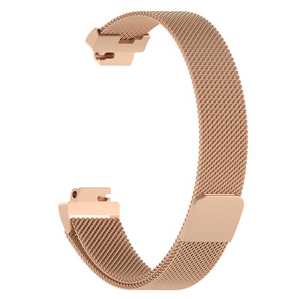 123Watches.nl Fitbit Inspire milanese band - rose gold