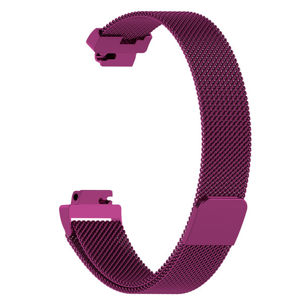 123Watches.nl Fitbit Inspire milanese band - paars
