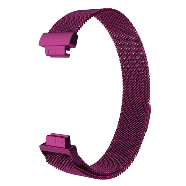 123Watches.nl Fitbit Inspire milanese band - purple