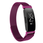 123Watches.nl Fitbit Inspire milanese band - violet