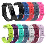 123Watches Fitbit Inspire sport sangle - vin rouge
