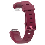 123Watches.nl Fitbit Inspire sport sangle - vin rouge