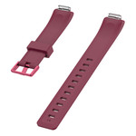 123Watches Fitbit Inspire sport band - wijnrood