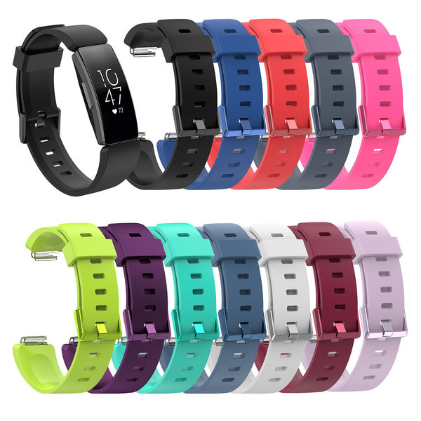 123Watches.nl Fitbit Inspire sport band - rood