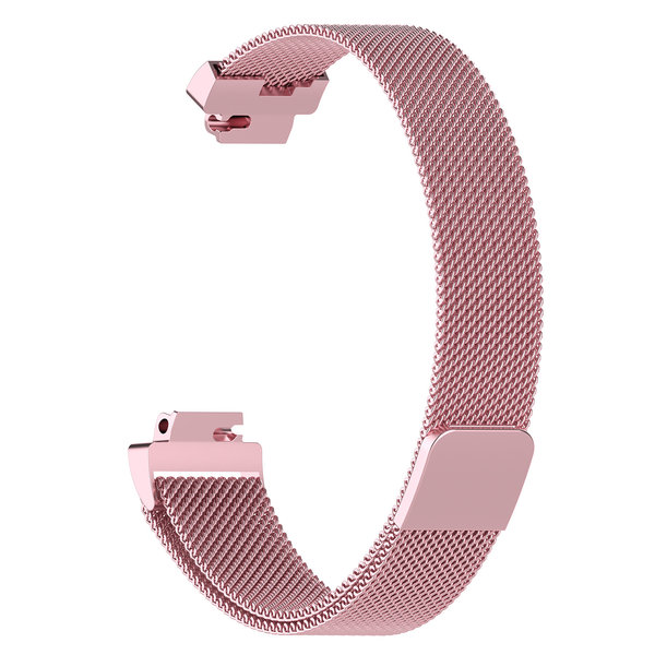 123Watches.nl Fitbit Inspire milanese band - pink