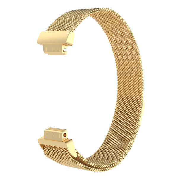 123Watches.nl Fitbit Inspire milanese band - Gold