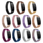 123Watches.nl Fitbit Inspire milanese band - schwarz