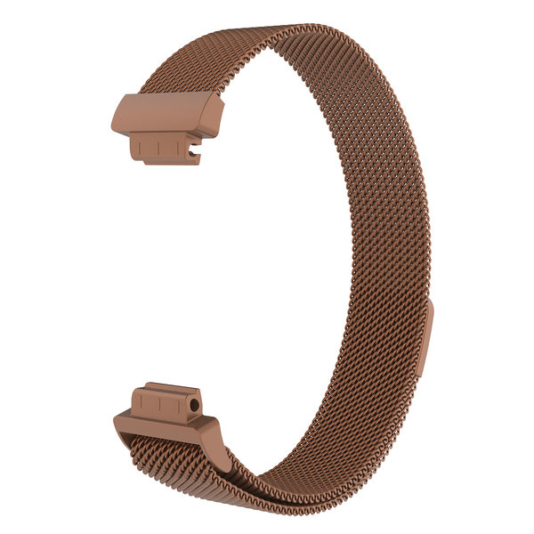 123Watches.nl Fitbit Inspire milanese band - bruin