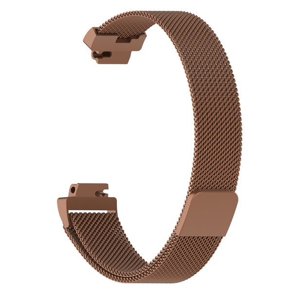 123Watches.nl Fitbit Inspire milanese band - brown