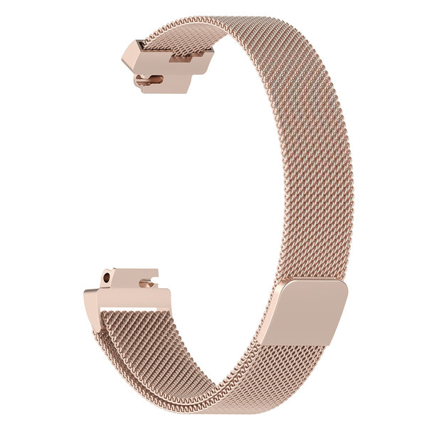 123Watches Fitbit Inspire milanese band - champagne