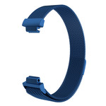 123Watches.nl Fitbit Inspire milanese band - blau
