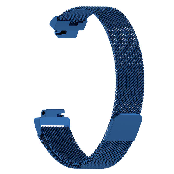 123Watches.nl Fitbit Inspire milanese band - blue