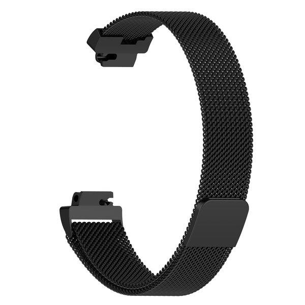 123Watches.nl Fitbit Inspire milanese band - zwart
