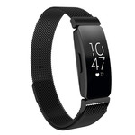 123Watches.nl Fitbit Inspire milanese band - noir