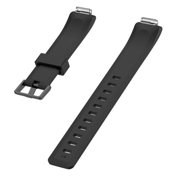 123Watches.nl Fitbit Inspire sport band - schwarz