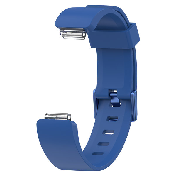 123Watches.nl Fitbit Inspire sport band - dark blue