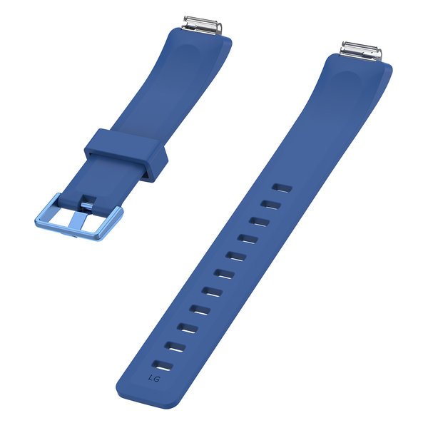 123Watches.nl Fitbit Inspire sport band - donkerblauw