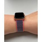 123Watches Apple watch nylon sport loop band - rose électrique