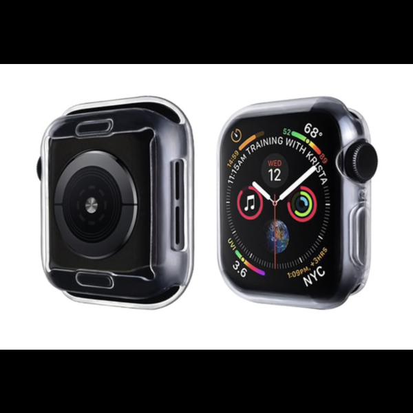 123Watches.nl Apple Watch schlanke weiche Hülle - transparent