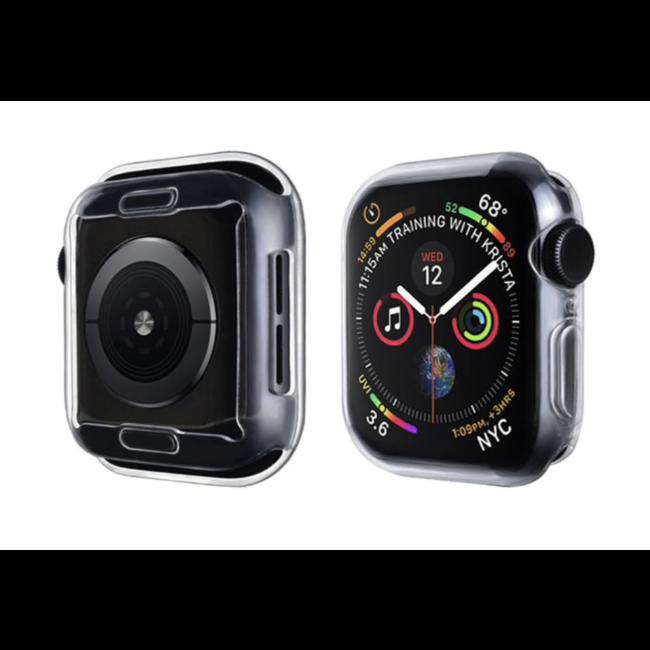 Merk 123watches Apple Watch slim soft case - transparant