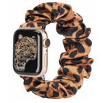 123Watches Apple watch scrunchie band - panter bruin