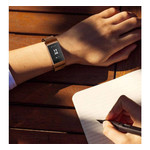 123Watches Fitbit charge 3 & 4 milanese band - bruin