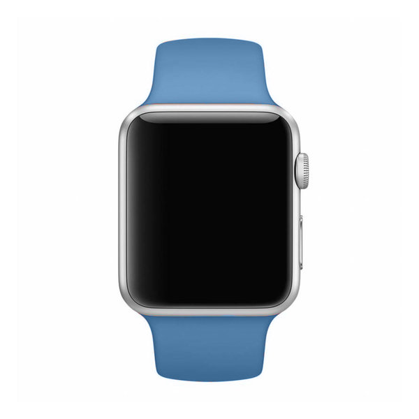 123Watches Apple watch sport band -  denim blue