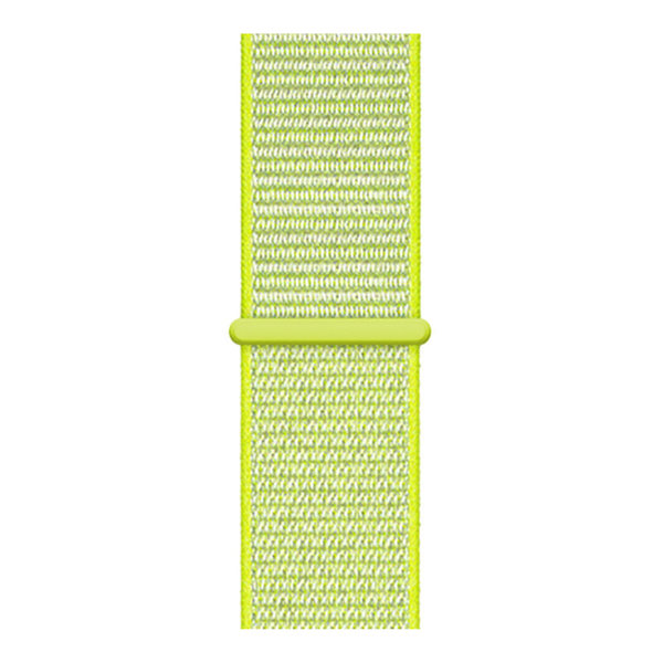 123Watches Apple watch nylon sport loop band - geel