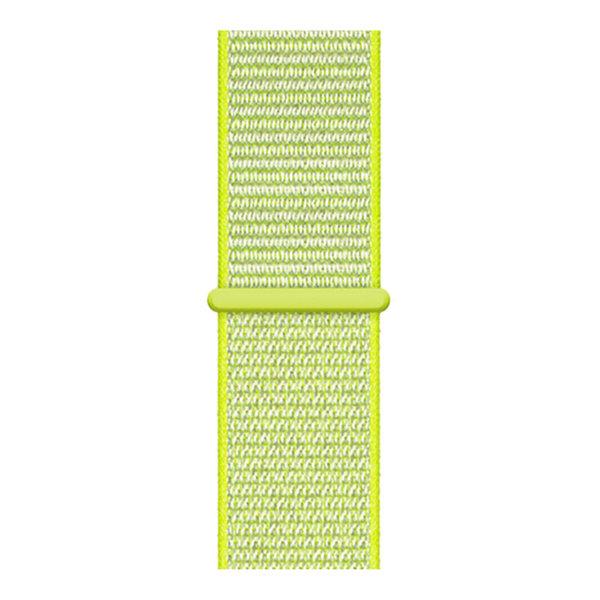 123Watches Apple watch nylon sport loop band - yellow