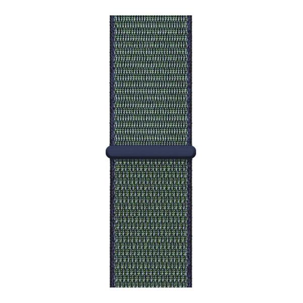 123Watches Apple watch nylon sport loop band - grijs