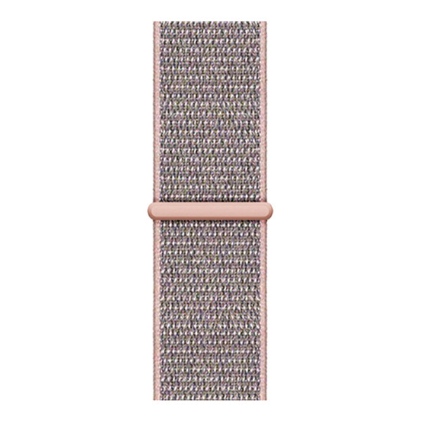 123Watches Apple watch nylon sport loop band - pink sand