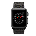123Watches Apple watch nylon sport loop band - black mix
