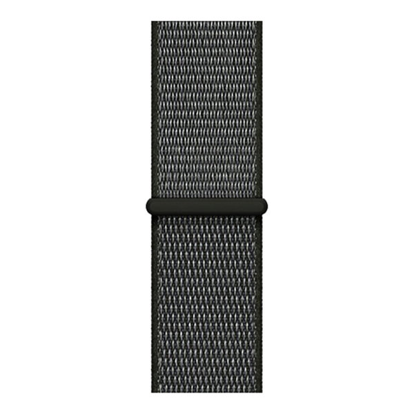 123Watches Apple watch nylon sport loop band - olive foncée