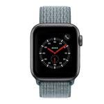 123Watches Apple watch nylon sport loop band - celestial teal