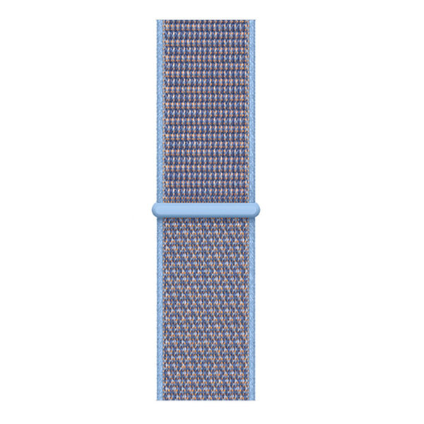 123Watches Apple watch nylon sport loop band - azuré