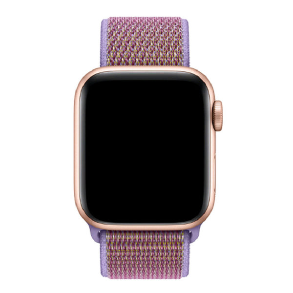 123Watches Apple watch nylon sport band - lila