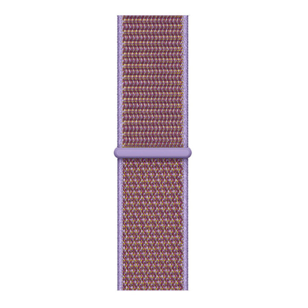 123Watches Apple watch nylon sport loop band - lila