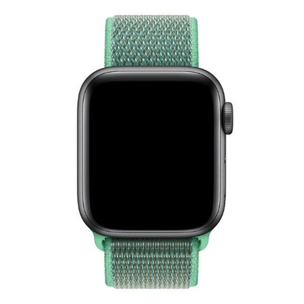 123Watches Apple watch nylon sport loop band - groene munt