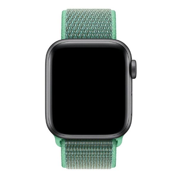 123Watches Apple watch nylon sport loop band - spearmint